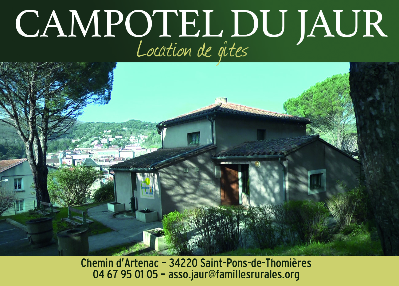 Campotel du Jaur